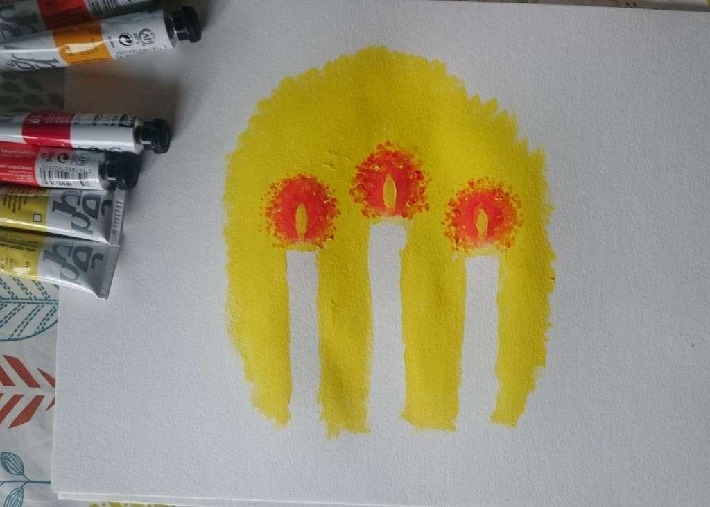 Candle Jo Degenhart paint