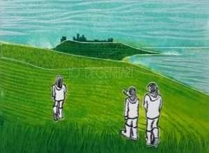 'A Walk to Dunstanburgh Castle' by Jo Degenhart