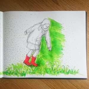 Day 4 28 Drawings Later Sketchbook Challenge by Jo Degenhart