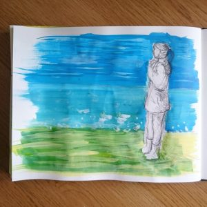 Day 5 28 Drawings Later Sketchbook Challenge by Jo Degenhart