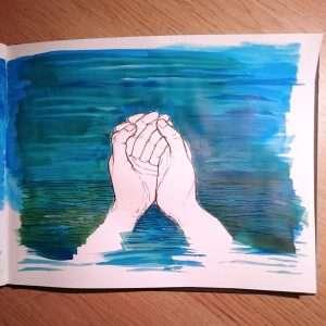 Day 6 28 Drawings Later Sketchbook Challenge by Jo Degenhart