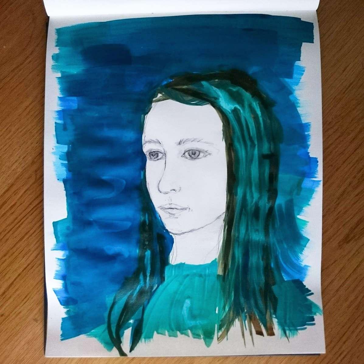 Day 10 28 Drawings Later Sketchbook Challenge by Jo Degenhart