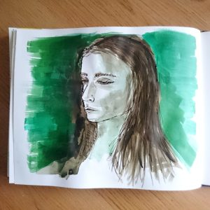 Day 11 28 Drawings Later Sketchbook Challenge by Jo Degenhart