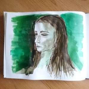 Day 11 28 Drawings Later Sketchbook Challenge by Jo Degenhart