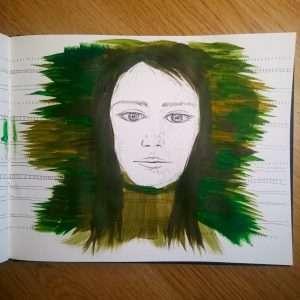 Day 12 28 Drawings Later Sketchbook Challenge by Jo Degenhart