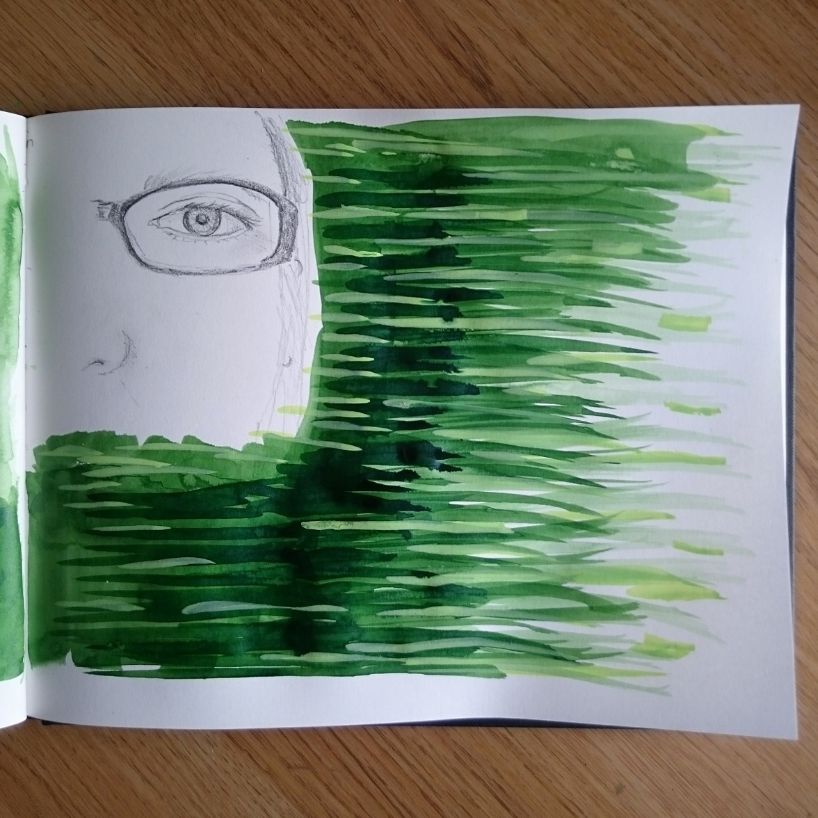 Day 14 28 Drawings Later Sketchbook Challenge by Jo Degenhart