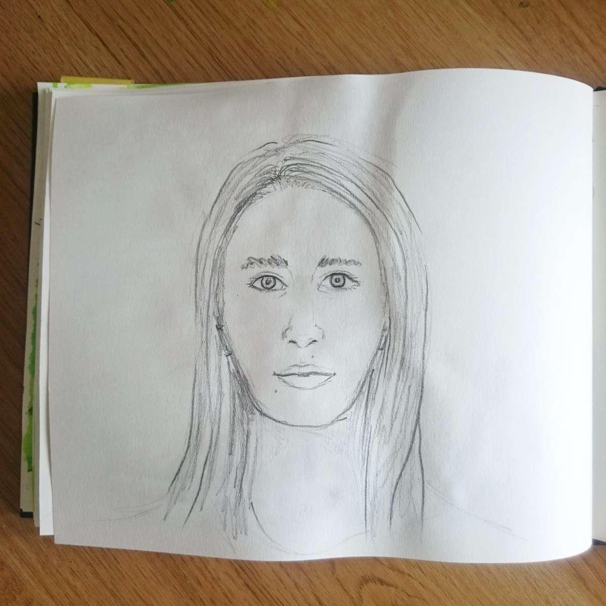 Day 15 28 Drawings Later Sketchbook Challenge by Jo Degenhart