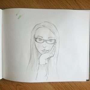 Day 16 28 Drawings Later Sketchbook Challenge by Jo Degenhart