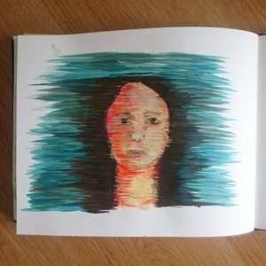 Day 17 28 Drawings Later Sketchbook Challenge by Jo Degenhart
