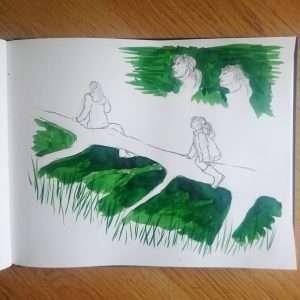 Day 18 28 Drawings Later Sketchbook Challenge by Jo Degenhart