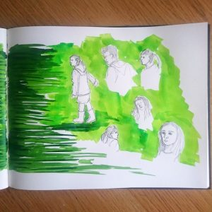 Day 20 28 Drawings Later Sketchbook Challenge by Jo Degenhart