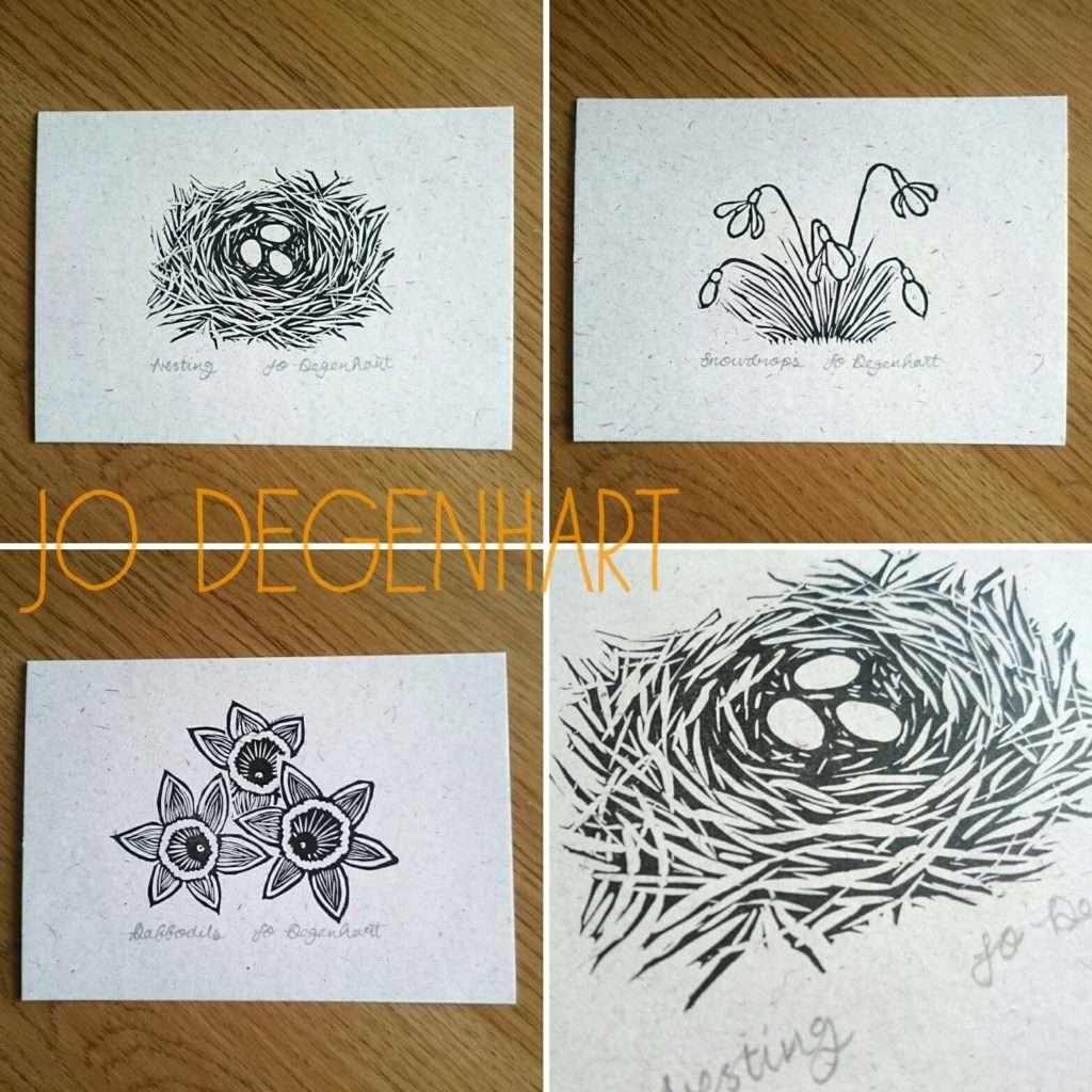 Spring Mini prints by Jo Degenhart