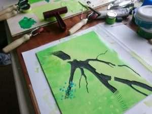 Printing Climbing on Tree Skeletons