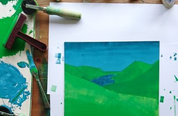 Printing Wast Water by Jo Degenhart
