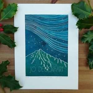 Mountain Skies by Jo Degenhart