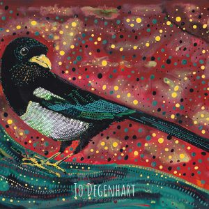 Magpie in the Calm by Jo Degenhart