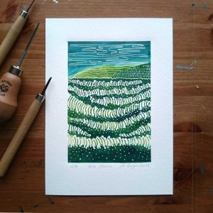 Original Lino Prints