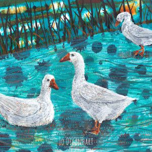 The third Goose by Jo Degenhart