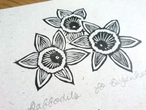 Daffodils<p>by Jo Degenhart
