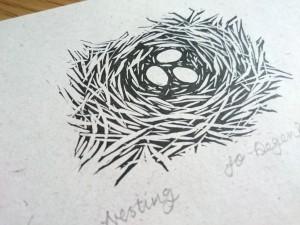 Nesting <p>by Jo Degenhart