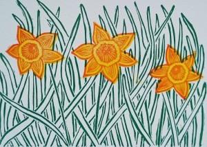 Spring Daffodils by Jo Degenhart (2)
